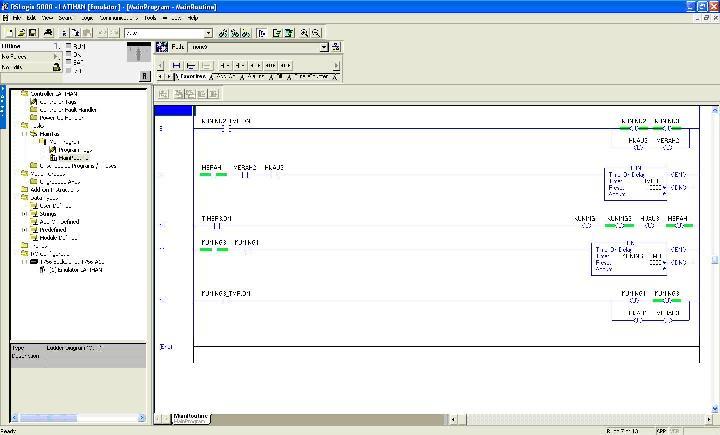 Program simulasi lampu lalu lintas menggunakan rslogix 5000 plc selamat mencoba ccuart Images